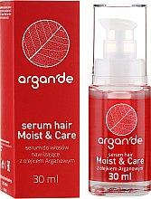 Düfte, Parfümerie und Kosmetik Haarserum - Stapiz Argan'de Moist & Care Serum