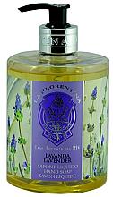 Düfte, Parfümerie und Kosmetik Handseife Lavendel - La Florentina Lavender Liquid Soap