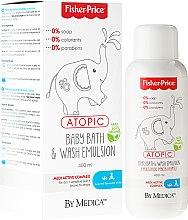 Düfte, Parfümerie und Kosmetik Kinder Haar- und Körperreinigungslotion - Fisher Price Atopic Body Emulsion