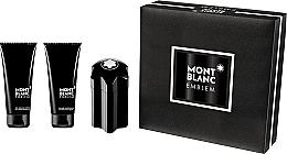 Düfte, Parfümerie und Kosmetik Montblanc Emblem - Duftset (Eau de Toilette 100ml + After Shave Balsam 100ml + Duschgel 100ml)