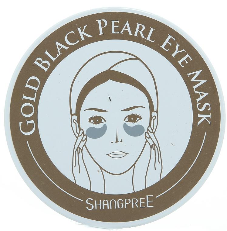 Hydrogel-Augenpatches mit schwarzem Perlenpulver - Shangpree Gold Hydrogel Eye Mask — Bild N5