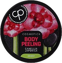 Düfte, Parfümerie und Kosmetik Entspannendes Körperpeeling mit japanischer Kamelie - Cosmepick Body Peeling Camellia Japonica