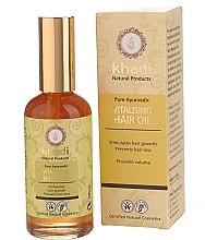 Düfte, Parfümerie und Kosmetik Vitalisierendes Haaröl zur Unterstützung des Haarwachstums - Khadi Hair Oil