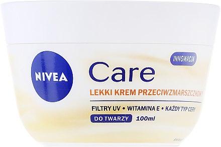 Leichte Anti-Aging Gesichtscreme mit Vitamin E - Nivea Care Light Anti-Wrinkle Cream — Bild N2