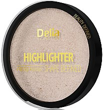 Düfte, Parfümerie und Kosmetik Kompaktpuder Highlighter - Delia Highliter Shape Defined Pressed Powder