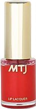 Düfte, Parfümerie und Kosmetik Lippenlack - MTJ Cosmetics Liquid Lip Lacquer Effect 6H