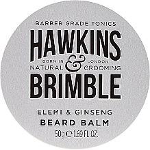 Düfte, Parfümerie und Kosmetik Bartbalsam mit Elemi und Ginseng - Hawkins & Brimble Beard Balm