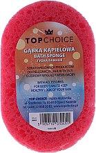 Badeschwamm 30451, pink-gelb - Top Choice — Bild N1