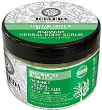 Düfte, Parfümerie und Kosmetik Glättendes Körperpeeling - Natura Siberica Iceveda Iceland Moss&Indian Amla Radiance Herbal Body Scrub