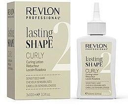 Düfte, Parfümerie und Kosmetik Well-Lotion für sensibilisiertes Haar 3x100 ml - Revlon Professional Lasting Shape Curly Lotion Sensitized