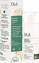 Düfte, Parfümerie und Kosmetik Nachtcreme gegen Mitesser und Pickel mit Weiden und Schafgarben - DLA
