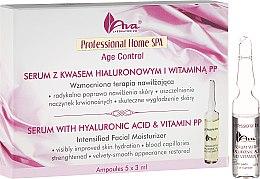 Düfte, Parfümerie und Kosmetik Gesichtsserum mit Hyaluronsäure und Vitamin PP - Ava Laboratorium Home SPA With Hyaluronic Acid & Vitamin PP Serum