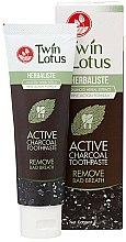 Düfte, Parfümerie und Kosmetik Aufhellende schwarze Zahncreme mit Bambuskohle - Twin Lotus Herbaliste Active Charcoal Toothpaste