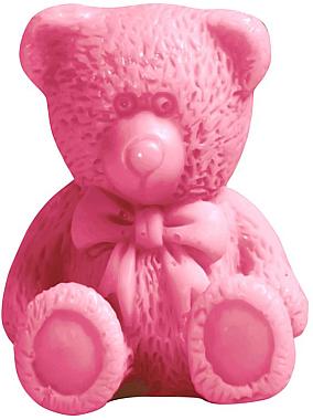 Handgemachte Glycerinseife Teddybär mit Kirschduft - LaQ Happy Soaps Natural Soap — Bild N1
