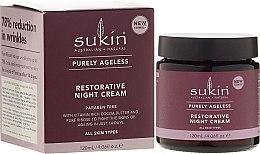 Anti-Falten Nachtcreme - Sukin Purely Ageless Night Cream — Bild N1