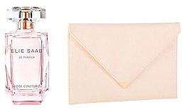 Düfte, Parfümerie und Kosmetik Elie Saab Le Parfum Rose Couture - Duftset (Eau de Toilette/50ml + kleine Tasche )