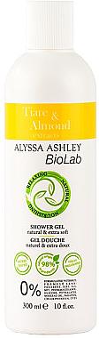 Duschgel - Alyssa Ashley Biolab Tiare & Almond — Bild N1