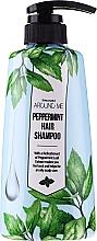 Düfte, Parfümerie und Kosmetik Shampoo mit Pfefferminzextrakt für fettiges Haar - Welcos Around Me Peppermint Fresh Hair Shampoo
