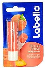 "Düfte, Parfümerie und Kosmetik Lippenbalsam ""Pfirsich"" - Labello Lip Care Peach Shine Lip Balm"