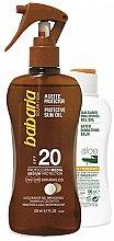 Düfte, Parfümerie und Kosmetik Sonnenschutzpflegeset - Babaria Sun (Sonnenschutzöl für den Körper 200ml + After Sun Körperbalsam 100ml)