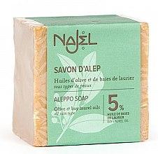 Düfte, Parfümerie und Kosmetik Parfümierte Aleppo-Körperseife - Najel Savon D'alep Aleppo Soap 5%