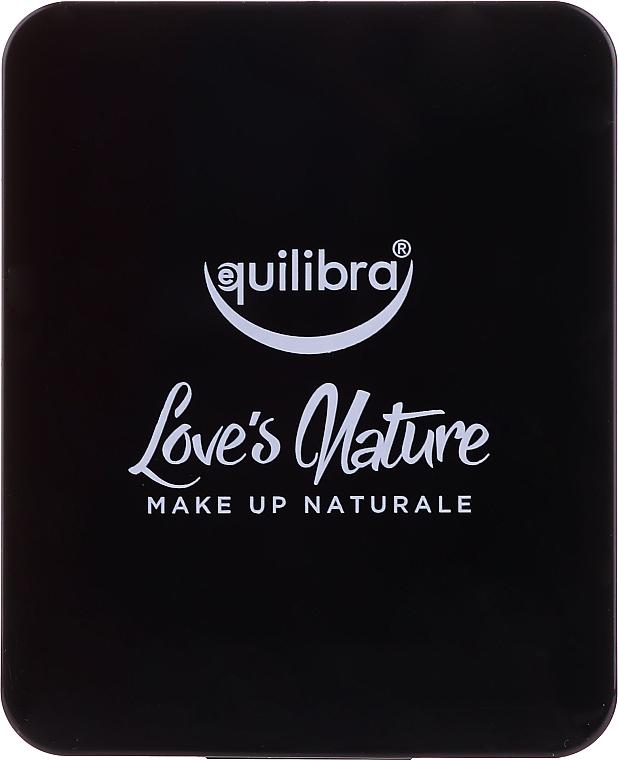 Make-up Set - Equilibra Love's Nature (Gesichtspuder 8.5g + Puderpinsel) — Bild N5