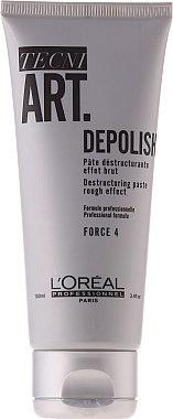 Destrukturierende Haarpaste mit starkem Halt - L'Oreal Professionnel Tecni.Art Depolish Forte 4 — Bild N1