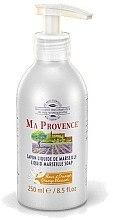 Düfte, Parfümerie und Kosmetik Flüssige Marseiller Seife mit Orangenblüten - Ma Provence Liquid Marseille Soap Orange