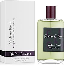 Düfte, Parfümerie und Kosmetik Atelier Cologne Vetiver Fatal - Eau de Cologne