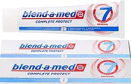 Düfte, Parfümerie und Kosmetik Zahnpasta Complete Protect 7 Original - Blend-a-med Complete Protect 7 Original