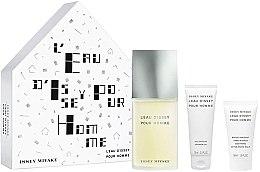 Düfte, Parfümerie und Kosmetik Issey Miyake L'Eau DIssey Pour Homme - Duftset (Eau de Toilette/125ml + Duschgel/75ml + After Shave Balsam/50ml)