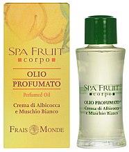 Düfte, Parfümerie und Kosmetik Frais Monde Spa Fruit Apricot And White Musk Perfumed Oil - Parfümöl