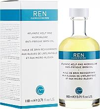 Düfte, Parfümerie und Kosmetik Regenerierendes und nährendes Badeöl - Ren Atlantic Kelp and Magnesium Anti-Fatigue Bath Oil