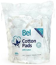 Düfte, Parfümerie und Kosmetik Wattepads aus Baumwolle für Babys 200 St. - Bel Cotton Pads