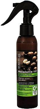 Pflegendes Haarspray mit Macadamiaöl und Keratin - Dr. Sante Macadamia Hair — Bild N1