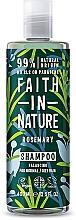 Düfte, Parfümerie und Kosmetik Balancierendes Shampoo mit Rosmarin für normales und fettiges Haar - Faith In Nature Rosemary Shampoo