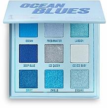 Düfte, Parfümerie und Kosmetik Lidschattenpalette - Makeup Obsession Ocean Blues Eyeshadow Palette