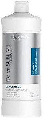 Creme-Peroxid 10,5% - Revlon Professional Revlonissimo Color Sublime Cream Oil Developer 35Vol 10,5% — Bild N1