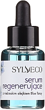 Intensiv pflegendes und regenerierendes Gesichtsserum mit blauem Reinfarnöl - Sylveco Blue Tansy Regenerating Serum — Bild N3