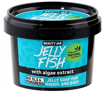 """Gel-Seife """"Jelly Fish"""" für Hände und Körper - Beauty Jar Jelly Soap For Hands And Body — Bild N1"""