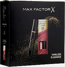 Düfte, Parfümerie und Kosmetik Max Factor - Make-up Set (Wimperntusche 9ml+Lippenstift 4.2g)