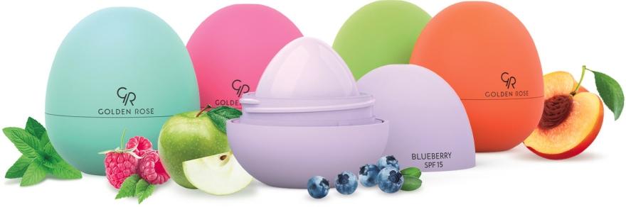 """Lippenbutter """"Grüner Apfel"""" SPF 15 - Golden Rose Lip Butter SPF15 Green Apple — Bild N4"""