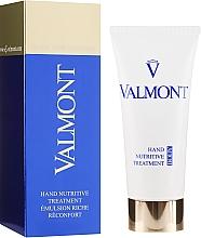 Düfte, Parfümerie und Kosmetik Aufbauende und pflegende Anti-Aging Handcreme - Valmont Hand Nutritive Treatment