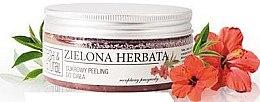 Düfte, Parfümerie und Kosmetik Zuckerpeeling für Körper mit Hibiskus - Fresh&Natural Body Scrub