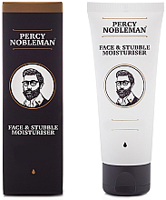 Düfte, Parfümerie und Kosmetik Feuchtigkeitsspendende Creme für die Gesichts- und Bartpflege - Percy Nobleman Face & Stubble Moisturiser