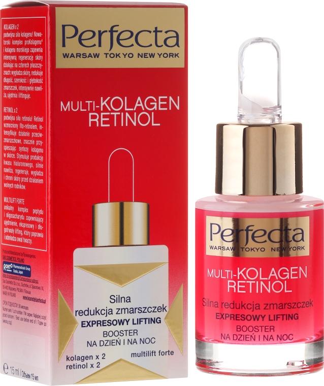 Anti-Falten Gesichtsbooster mit Lifting-Effekt für Tag und Nacht - Dax Cosmetics Perfecta Multi-Collagen Retinol Booster