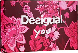 Düfte, Parfümerie und Kosmetik Desigual You - Duftset (Eau de Toilette 50ml + Kosmetiktasche)