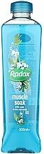 Düfte, Parfümerie und Kosmetik Badeschaum mit Salbei und Meeresmineralien - Radox Muscle Soak Bath Soak