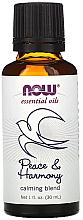 Düfte, Parfümerie und Kosmetik Beruhigende Mischung aus ätherischen Ölen Frieden & Harmonie - Now Foods Essential Oils Peace & Harmony