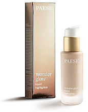Düfte, Parfümerie und Kosmetik Flüssiger Highlighter - Paese Wonder Glow Liquid Highlighter